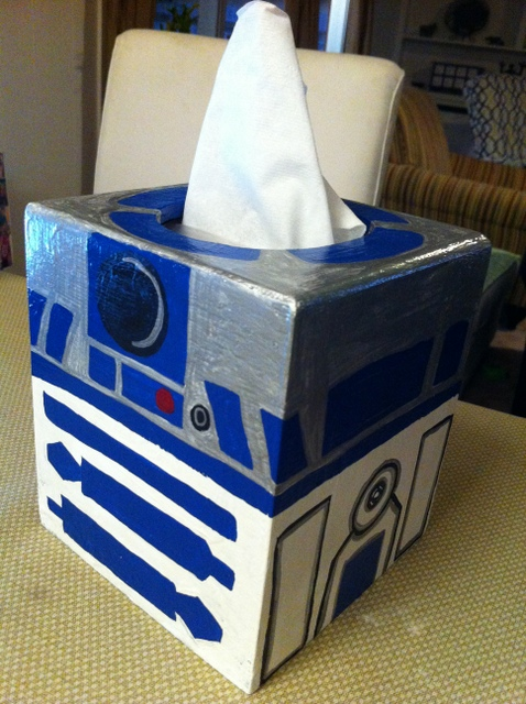 Hand Painted Tissue Boxes Creative Solutions By Julie
