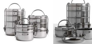 Traditional Tiffin Lunch Boxes