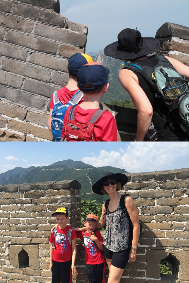Camelbaks on teh Great Wall