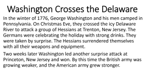 8 - Washington Crosses the Delaware