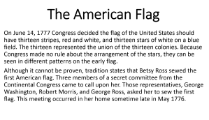 9 - The American Flag